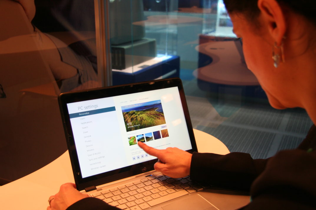 Truth behind touchscreen laptops